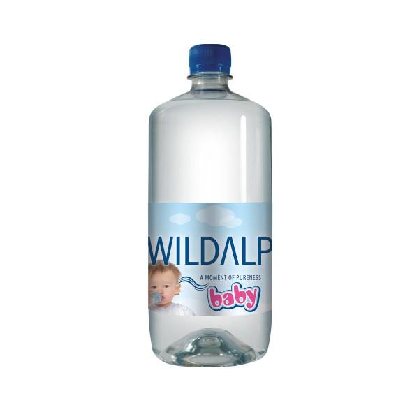 Babywasser natürliches Quellwasser ohne Abkochen für Babynahrung